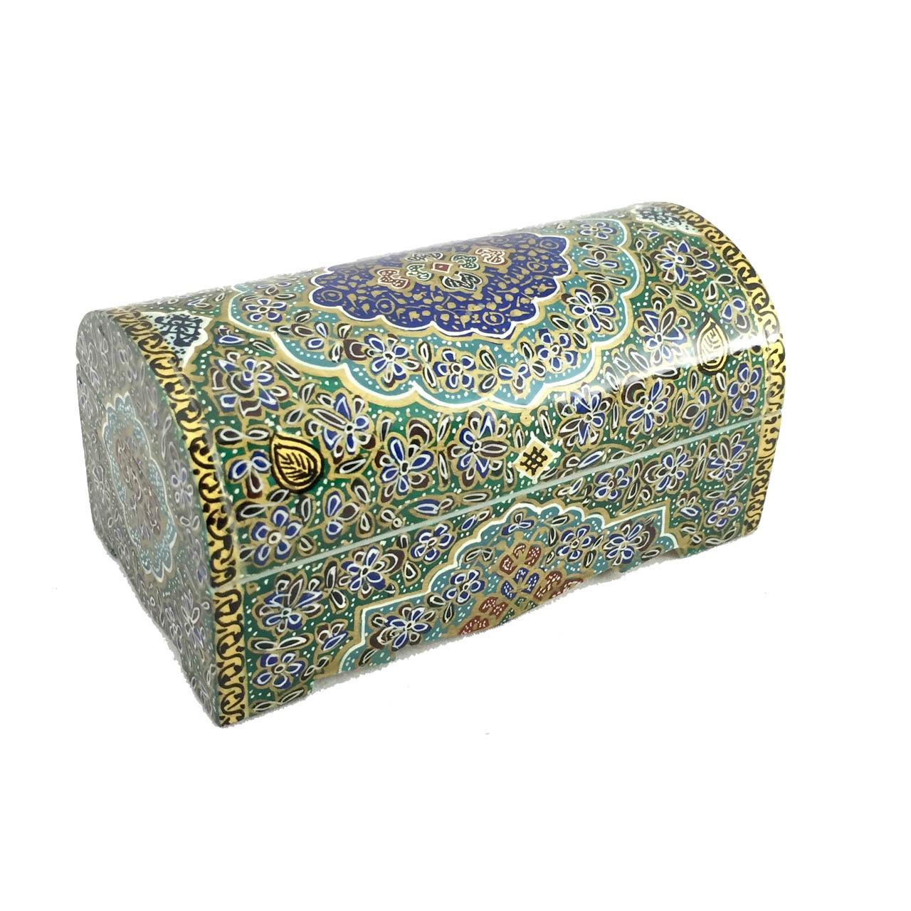 جعبه جواهرات استخوانی مدل CB9green