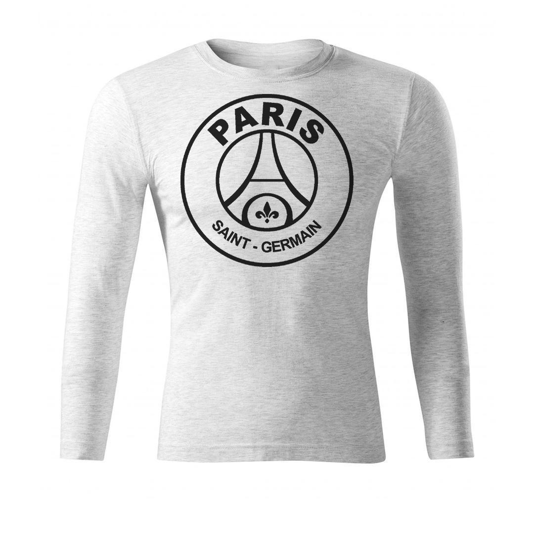 تی شرت آستین بلند مردانه طرح پاریسن ژرمن PSG LOGO