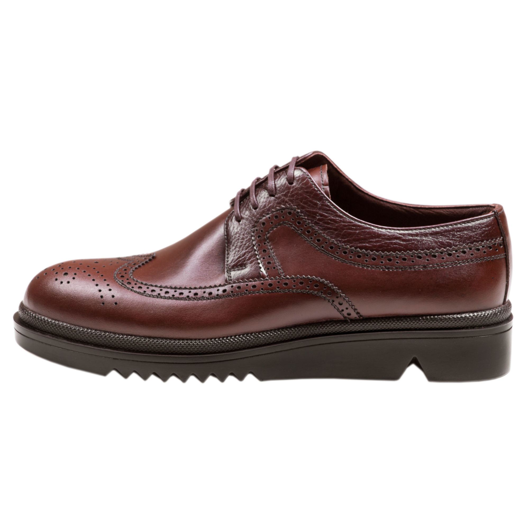 کفش مردانه سی سی مدل نیومن رنگ قهوهای