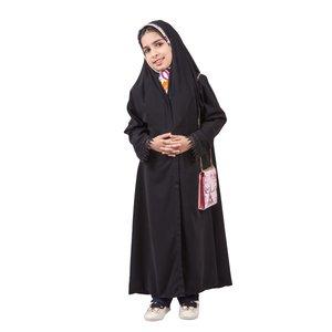 چادر ملی دخترانه حجاب فاطمی مدل اسود کد har1294