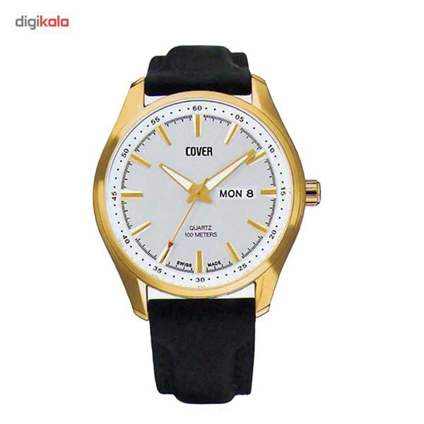 ساعت مچی عقربه ای مردانه کاور مدل Co41.08