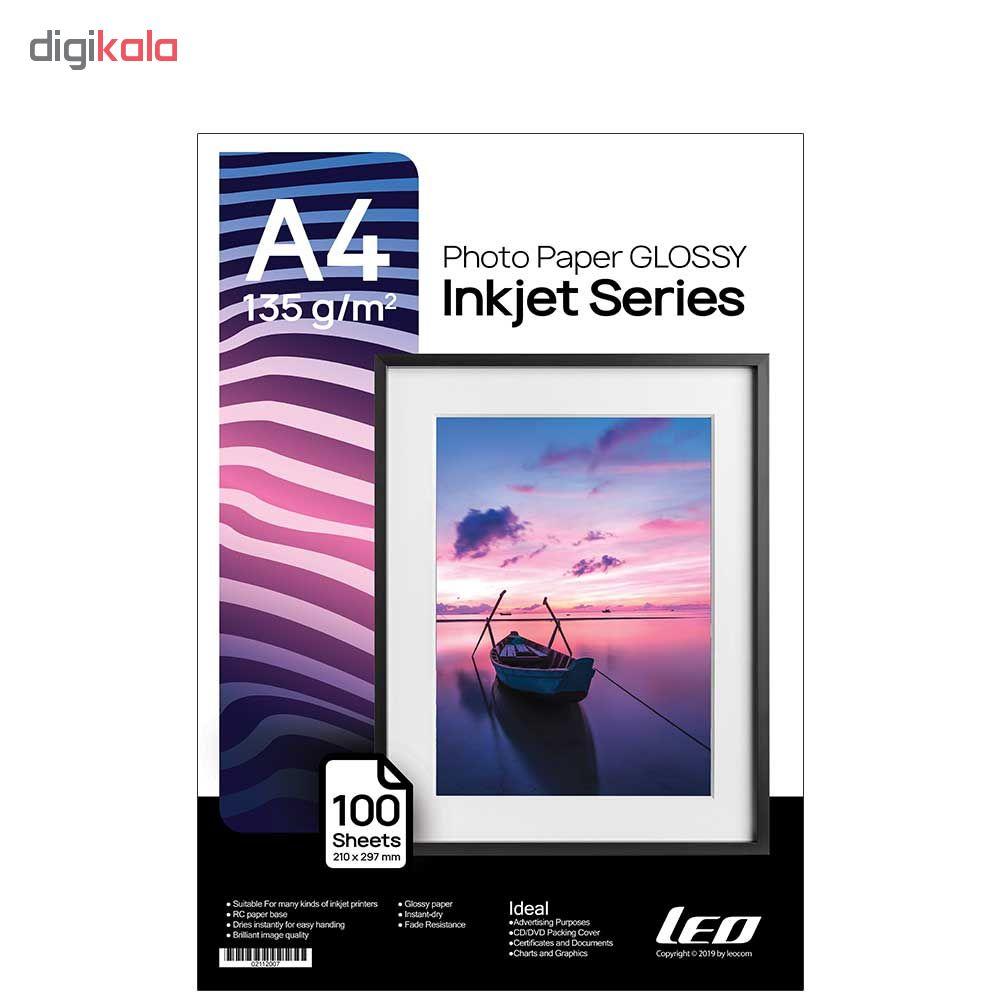 قیمت                      کاغذ چاپ عکس گلاسه لیوکام مدل 135 گرمی سایز A4 بسته 100 عددی