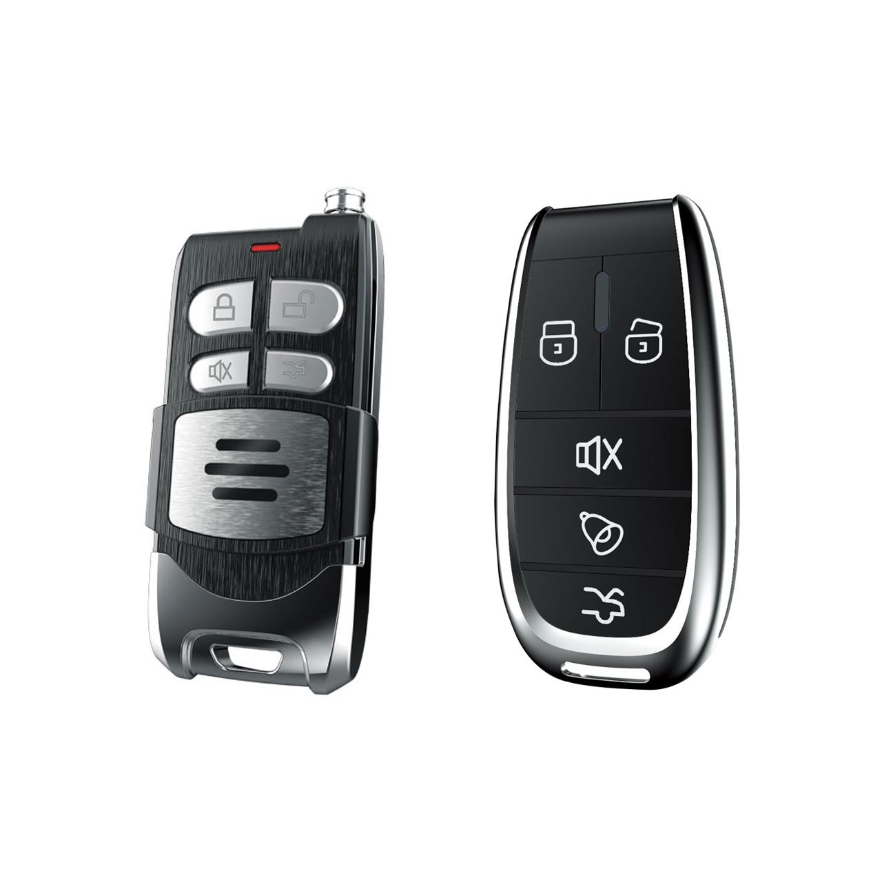 دزدگیر خودرو استیلاک مدل هوتای کد ریموت HUATAI Car Alarm Stelock A588 A517