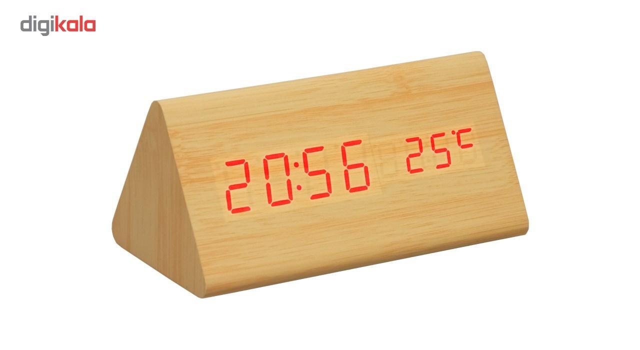 ساعت رومیزی کیمیت مدل Woody 861