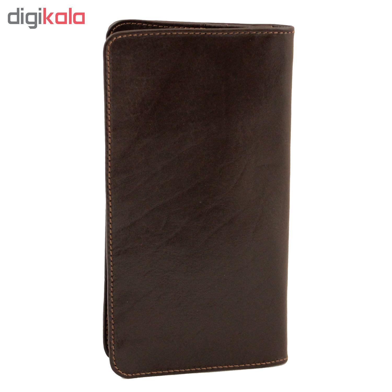 ADINCHARM natural leather wallet, DM63 Model