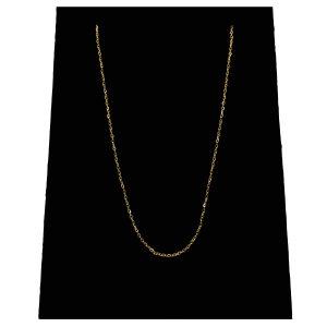 زنجیر طلا 18 عیار گیرا گالری مدل G160