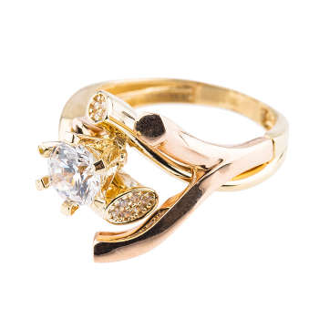 انگشتر طلا 18 عیار کد 150 |