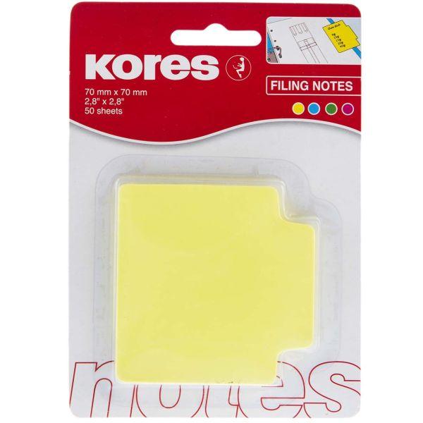 کاغذ یادداشت چسب دار کورس مدل Neon - بسته 50 عددی
