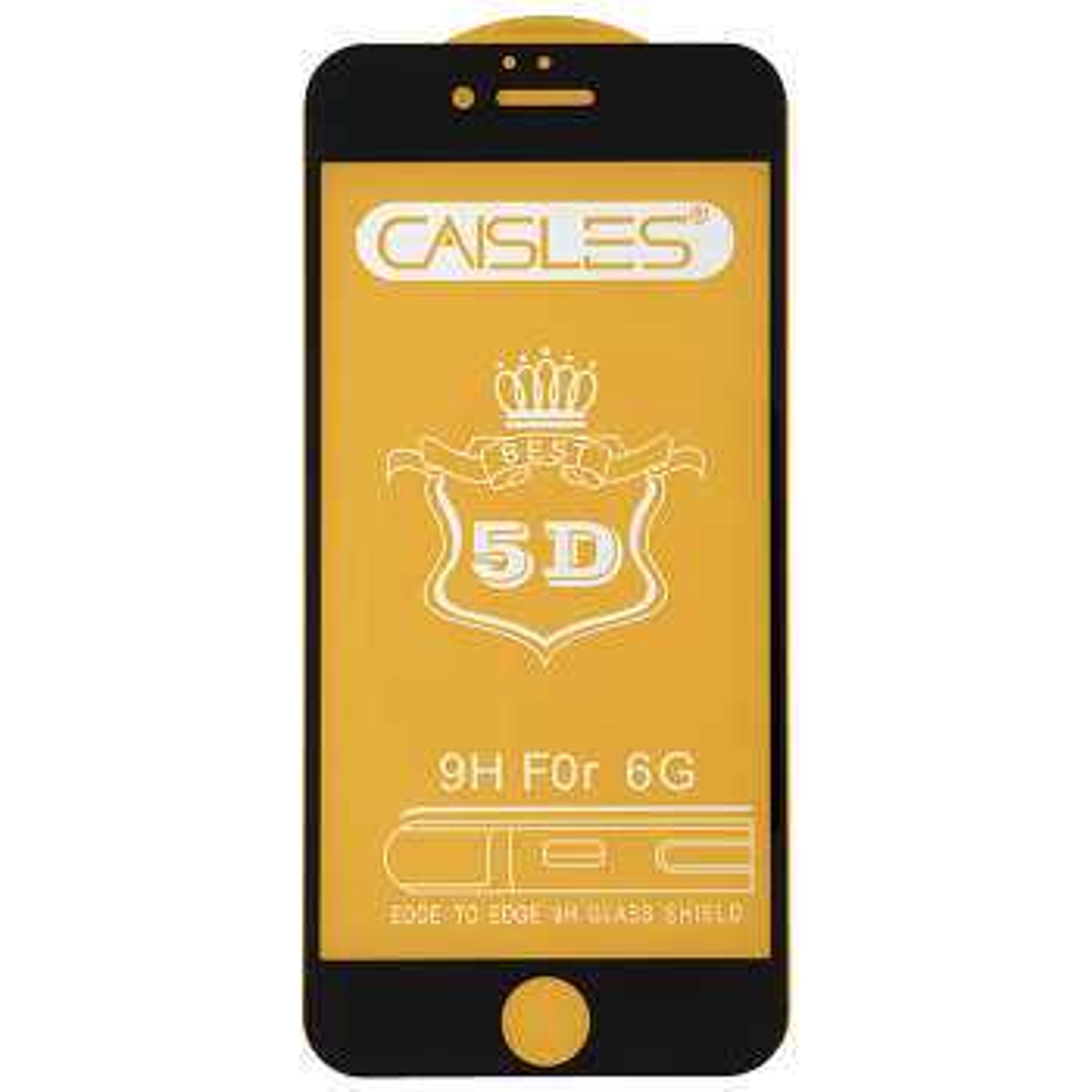 گلس محافظ صفحه نمایش مدل CAISLES مناسب برای گوشی موبایل اپل iPhone 6G/S