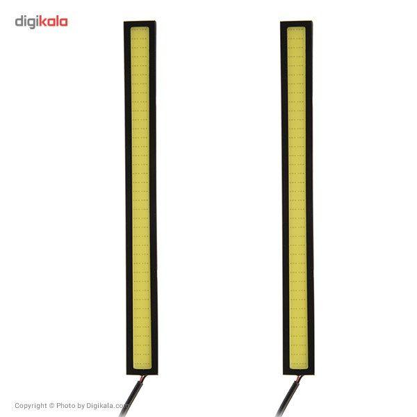 چراغ ال ای دی خودرو دی تایم رانینگ لایت 17 سانتیمتری main 1 1