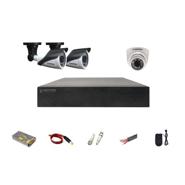 سیستم امنیتی ویزیترون مدل DK41_243ZE20_168XG20_ D141