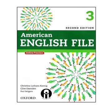 کتاب American English File 3 اثر جمعی از نویسندگان انتشارات الوند پویان