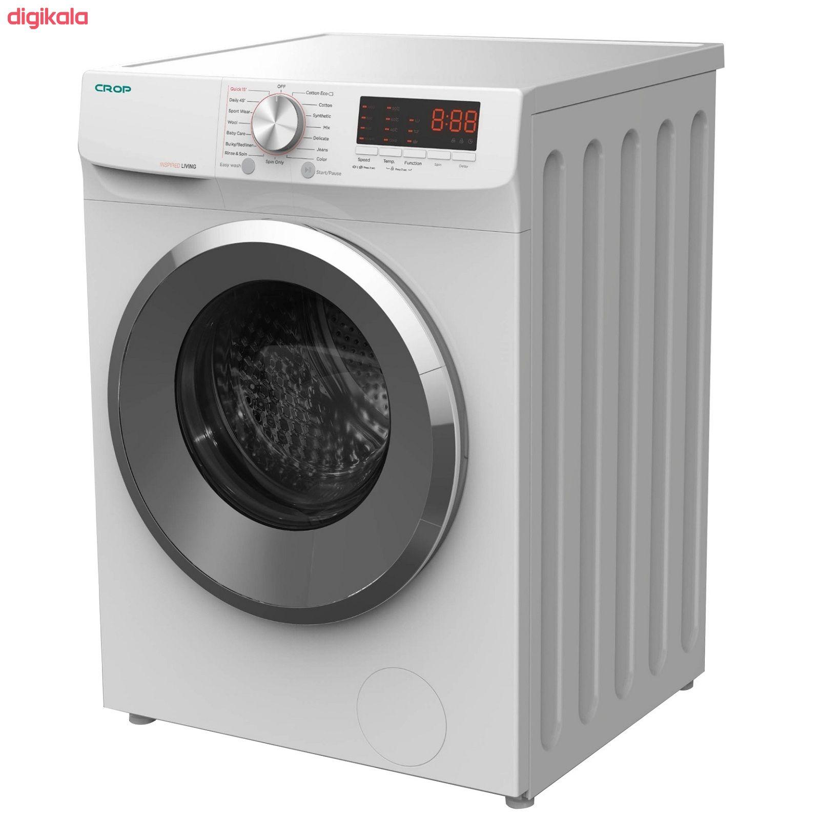 ماشین لباسشویی کروپ مدل WFT-26130 ظرفیت 6 کیلوگرم main 1 2