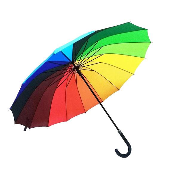 چتر مدل رنگین کمان کد 55