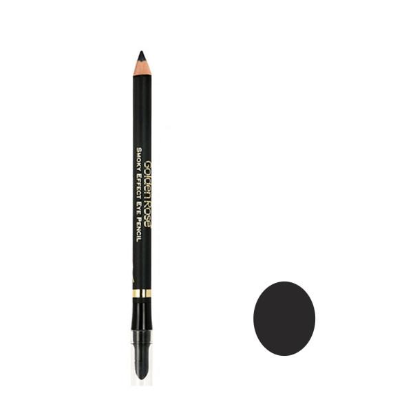 مداد چشم گلدن رز مدل  Smoky Effect-Black