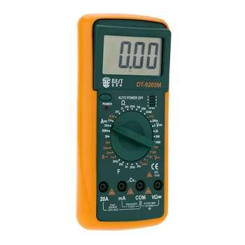 مولتی متر دیجیتال بست مدل DT-9205M | BEST DT-9205M Multi-function Digital Meter