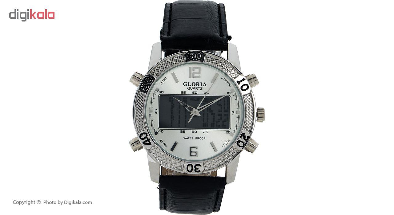 خرید ساعت مچی عقربه ای مردانه گلوریا مدل A1