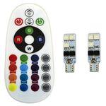 لامپ اس ام دی با قابلیت تغییر رنگ و حالت نوردهی مدل L02 بسته 2 عددی thumb