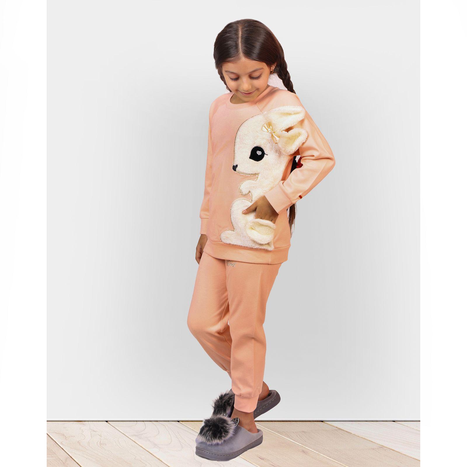ست تی شرت و شلوار دخترانه مادر مدل 302-80 main 1 9