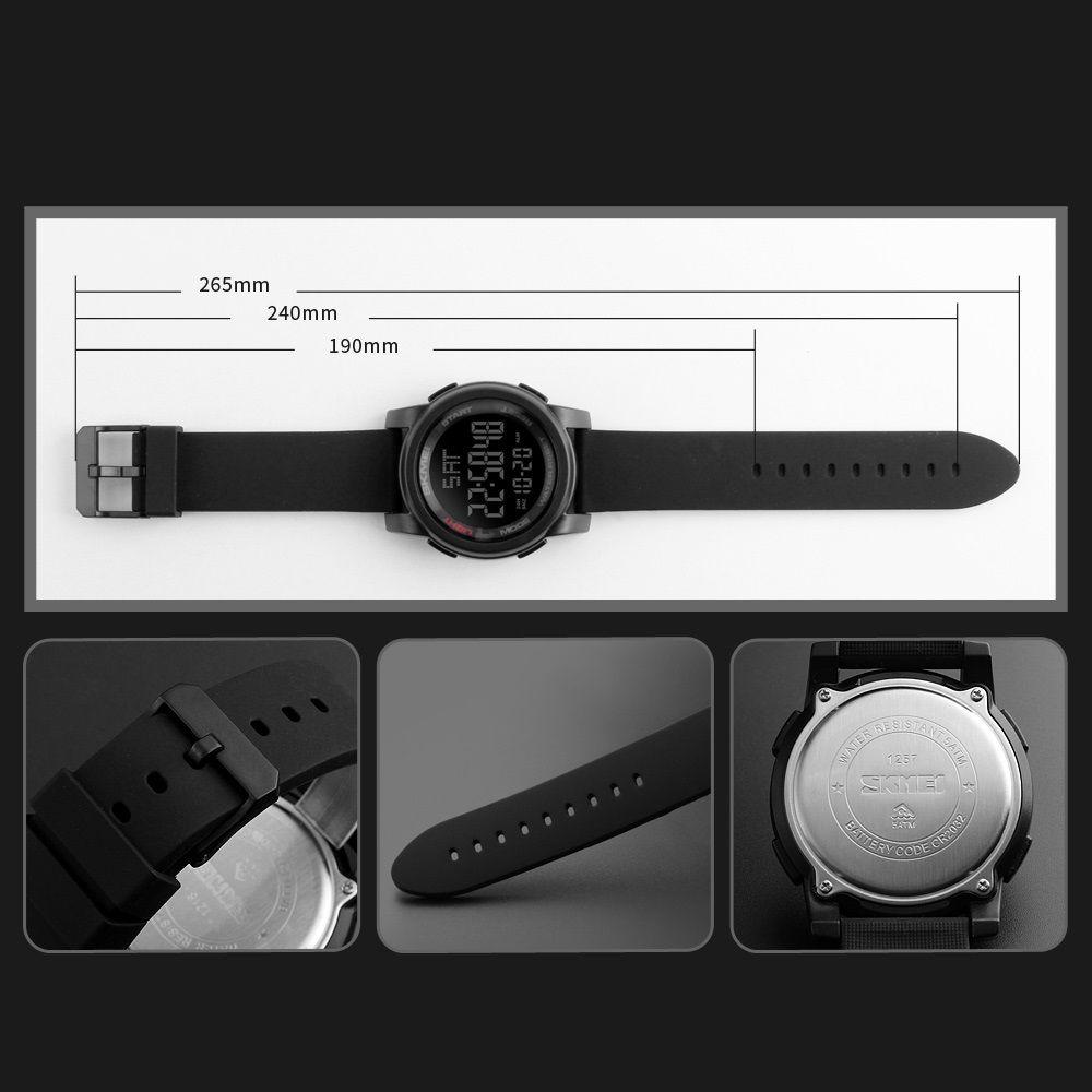 ساعت مچی دیجیتالی اسکمی مدل 1257 کد 05 -  - 10