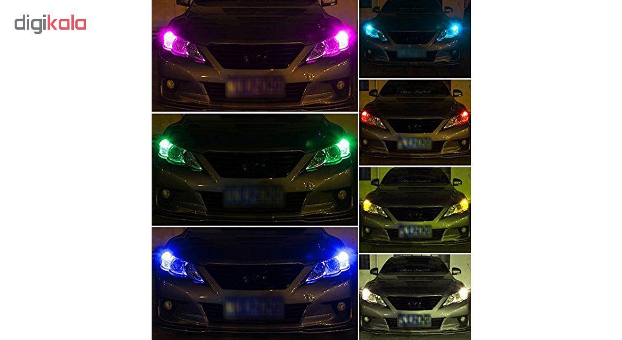 لامپ اس ام دی با قابلیت تغییر رنگ و حالت نوردهی مدل L02 بسته 2 عددی main 1 4