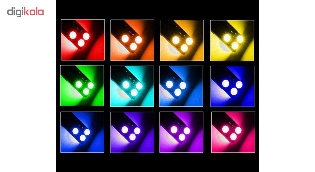 لامپ اس ام دی با قابلیت تغییر رنگ و حالت نوردهی مدل L02 بسته 2 عددی main 1 5
