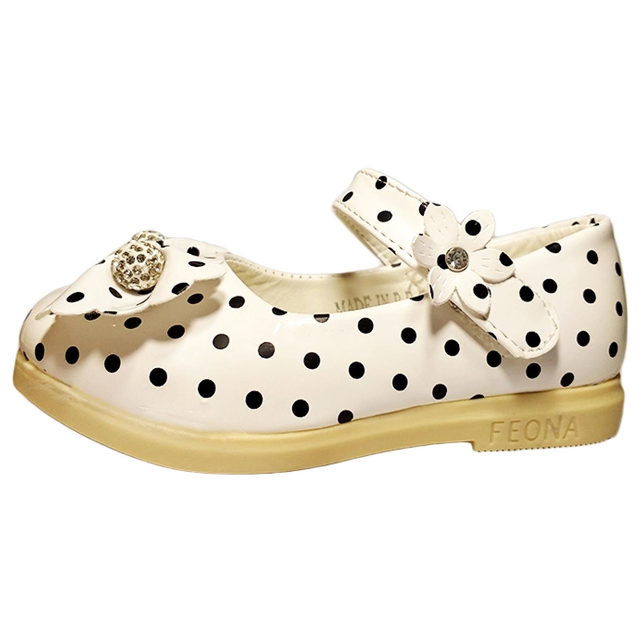 کفش بچه گانه مدل WHITE_DM02
