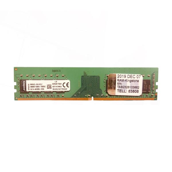 رم دسکتاپ DDR4 دو کاناله 2400 مگاهرتز CL15 کینگستون ظرفیت 8 گیگابایت KVR24N17S8/8