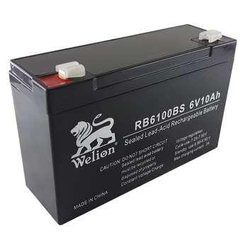 باتری یو پی اس 6 ولت 10 آمپر ساعت ولیون مدل RB6100BS |