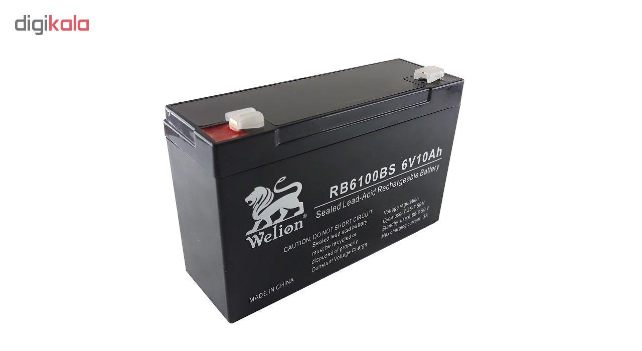باتری یو پی اس 6 ولت 10 آمپر ساعت ویلیون مدل RB6100BS