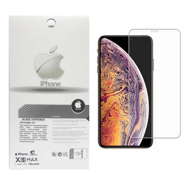 محافظ صفحه نمايش تسلا مدل Tempered مناسب براي گوشي موبایل اپل iphone XS Max