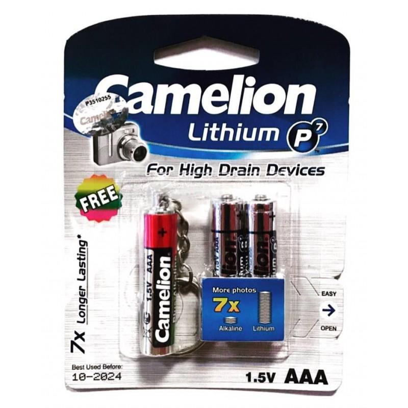 باتری نیم قلمی کملیون مدل Lithium x7 بسته 2عددی