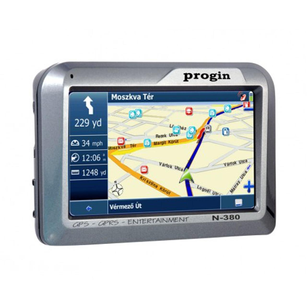 خرید اینترنتی                     مسیریاب خودرو پروجین مدل N-380