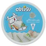 پنیر سفید مثلثی با سیر و سبزیجات روزانه مقدار 120 گرم thumb