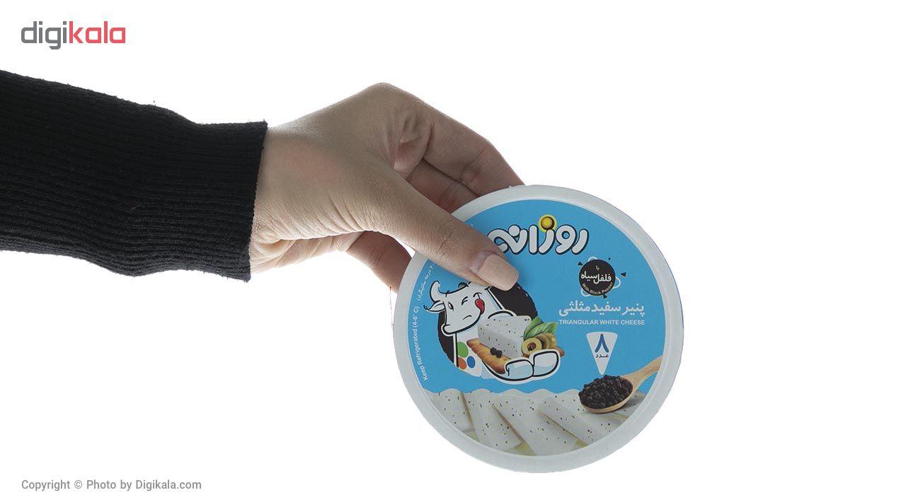 پنیر سفید مثلثی با فلفل سیاه روزانه مقدار 120 گرم main 1 1