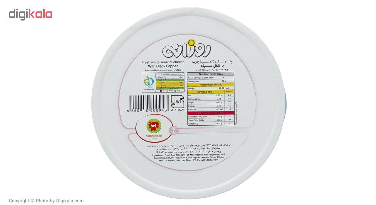 پنیر سفید مثلثی با فلفل سیاه روزانه مقدار 120 گرم main 1 5