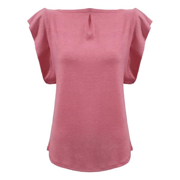 تی شرت زنانه افراتین مدل  1550 رنگ صورتی