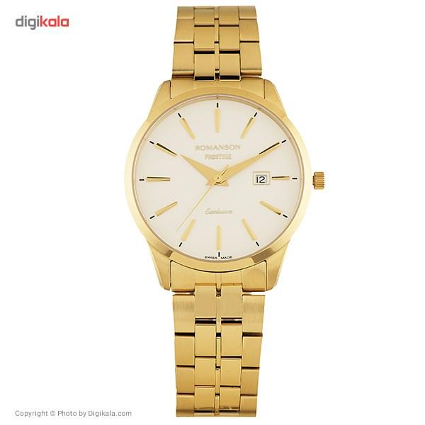 ساعت مچی عقربه ای مردانه رومانسون مدل TM3256MM1GA11G