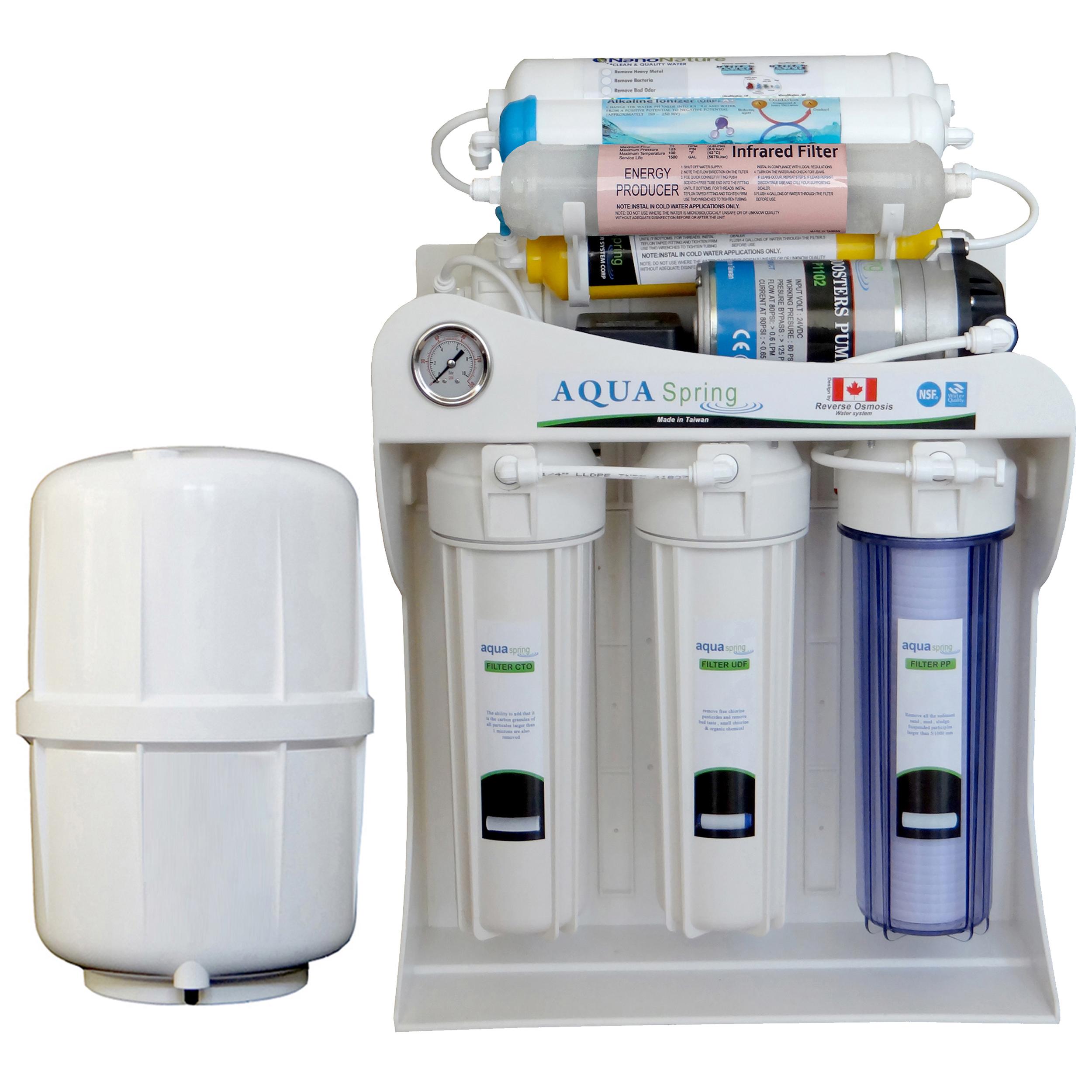 دستگاه تصفیه کننده آب آکوآ اسپرینگ مدل NF-SF3400