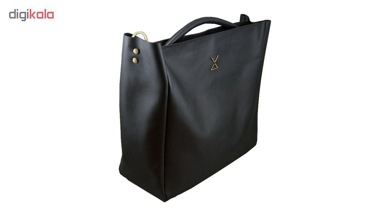 کیف دستی زنانه چرم لانکا مدل HB-24 -  - 1