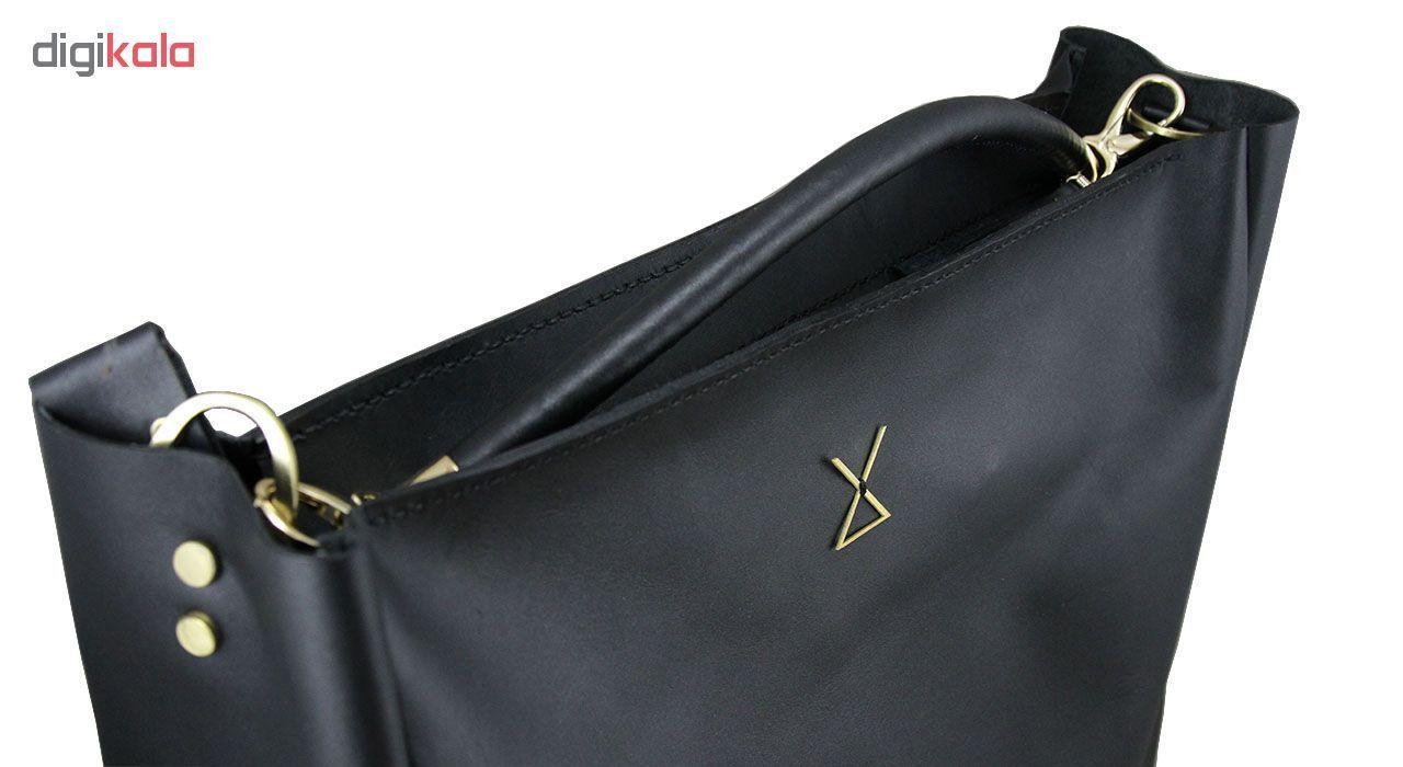 کیف دستی زنانه چرم لانکا مدل HB-24 -  - 2