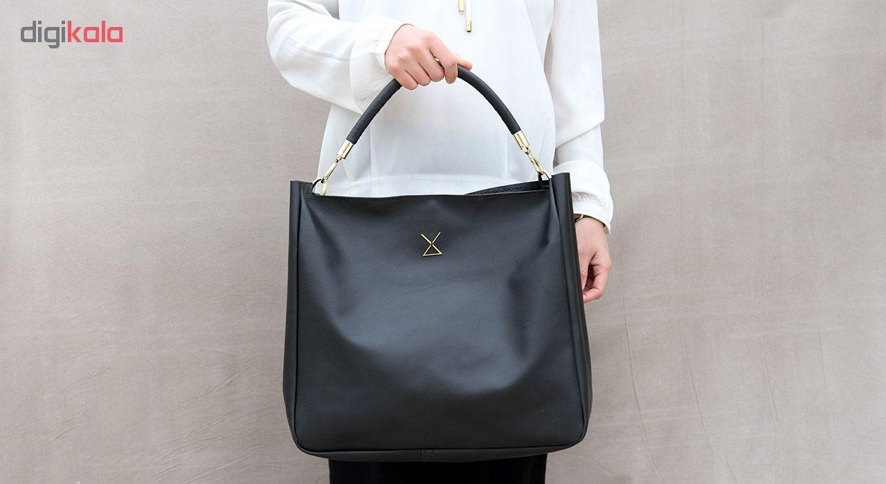 کیف دستی زنانه چرم لانکا مدل HB-24 -  - 3