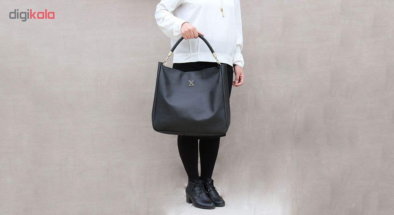 کیف دستی زنانه چرم لانکا مدل HB-24 -  - 5