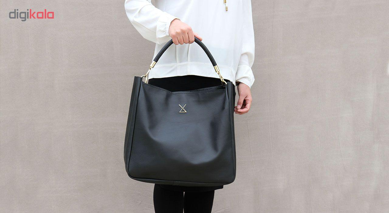 کیف دستی زنانه چرم لانکا مدل HB-24 -  - 6