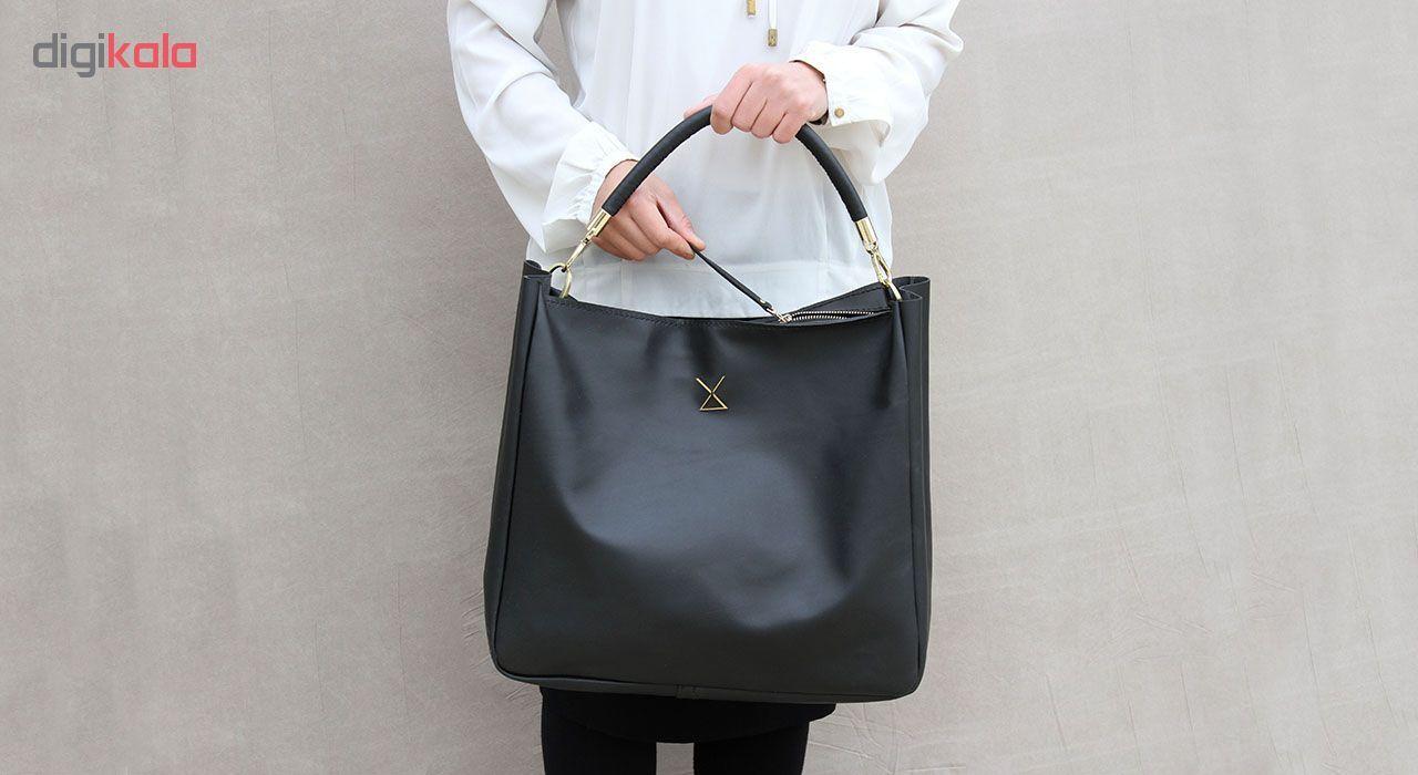 کیف دستی زنانه چرم لانکا مدل HB-24 -  - 7