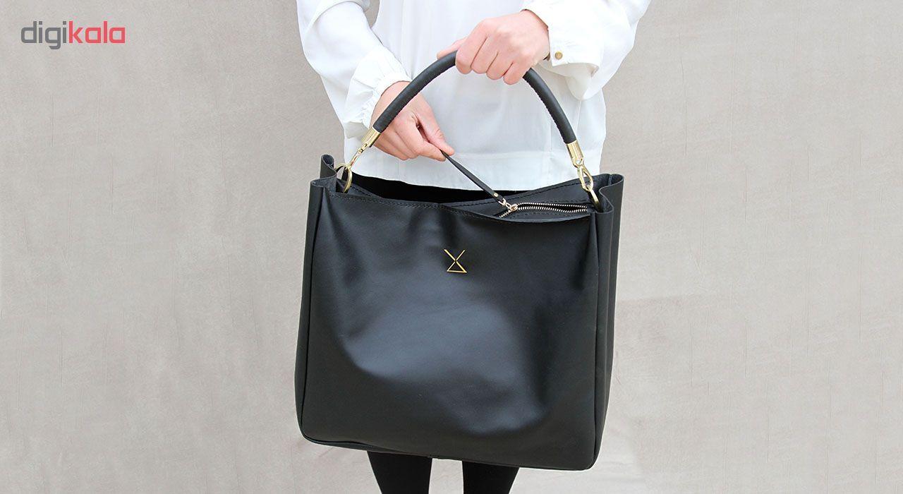 کیف دستی زنانه چرم لانکا مدل HB-24 -  - 9