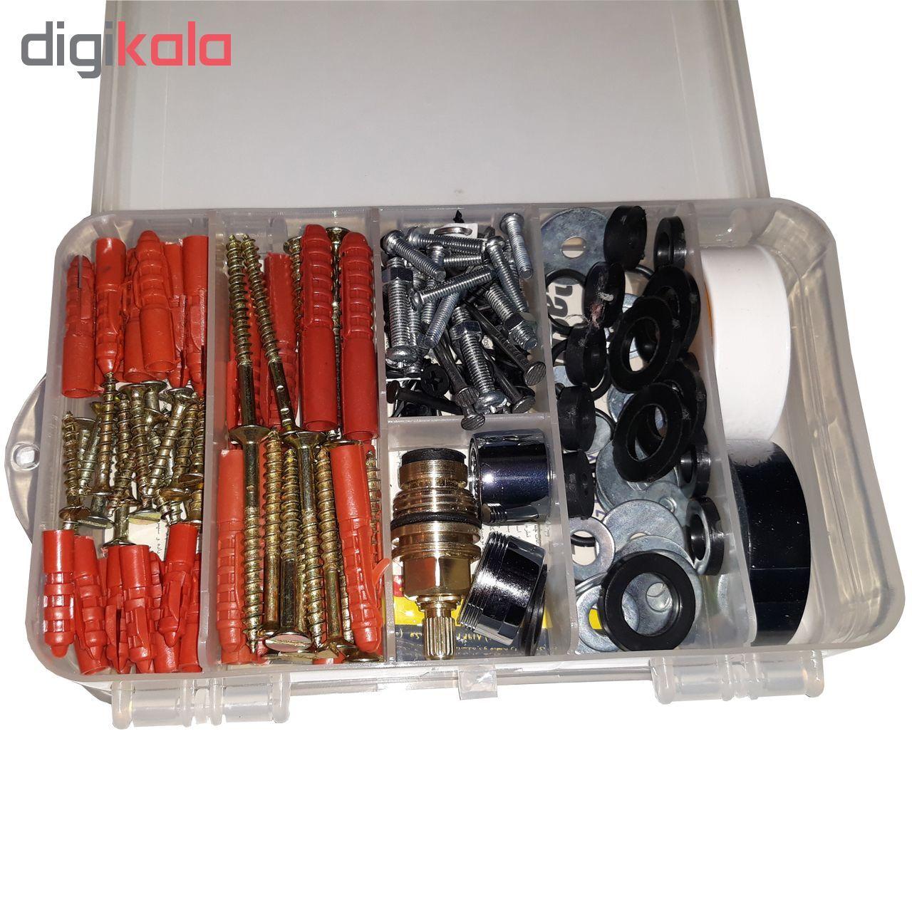 مجموعه 190 عددی ابزار مدل AH190 main 1 2