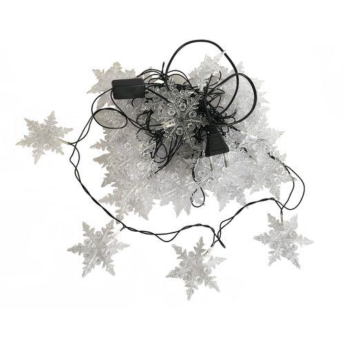 ریسه ال ای دی 6 متر 41 دانه برف  نفیس گالری