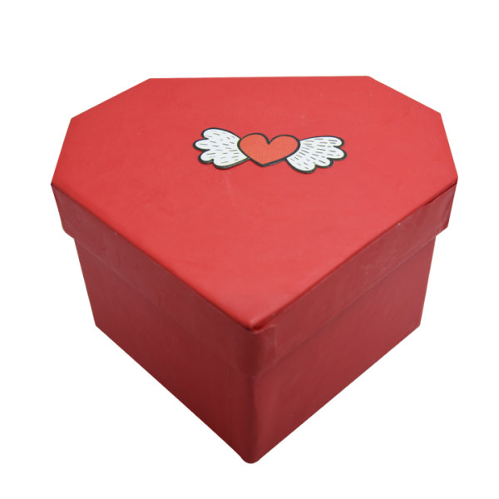 جعبه هدیه مدل قلب فرشته کد 1022
