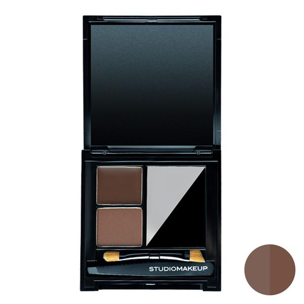 سایه ابرو استودیو میکاپ مدل Perfecting Kit شماره 02